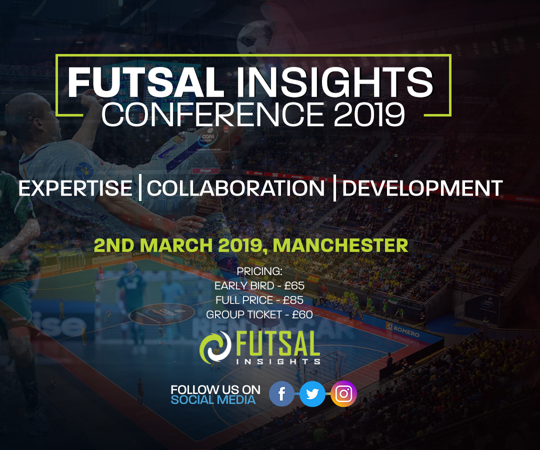 Futsal Insights Conference 2019 – Manchester