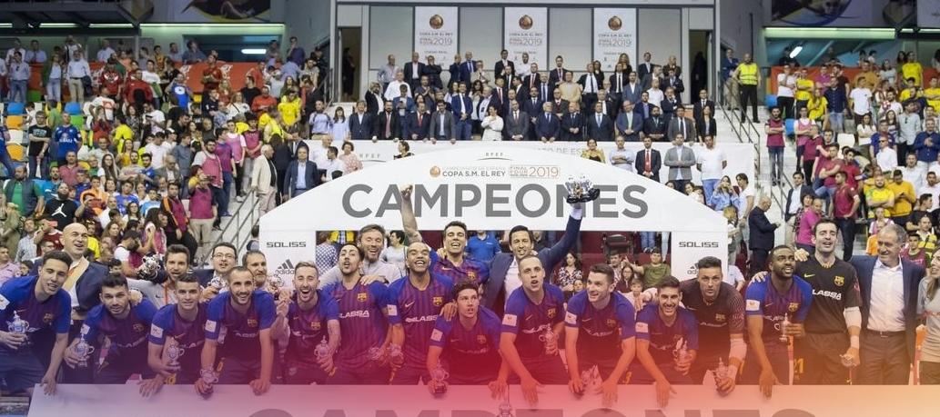 Το Copa del Rey ξανά στη Μπαρτσελόνα
