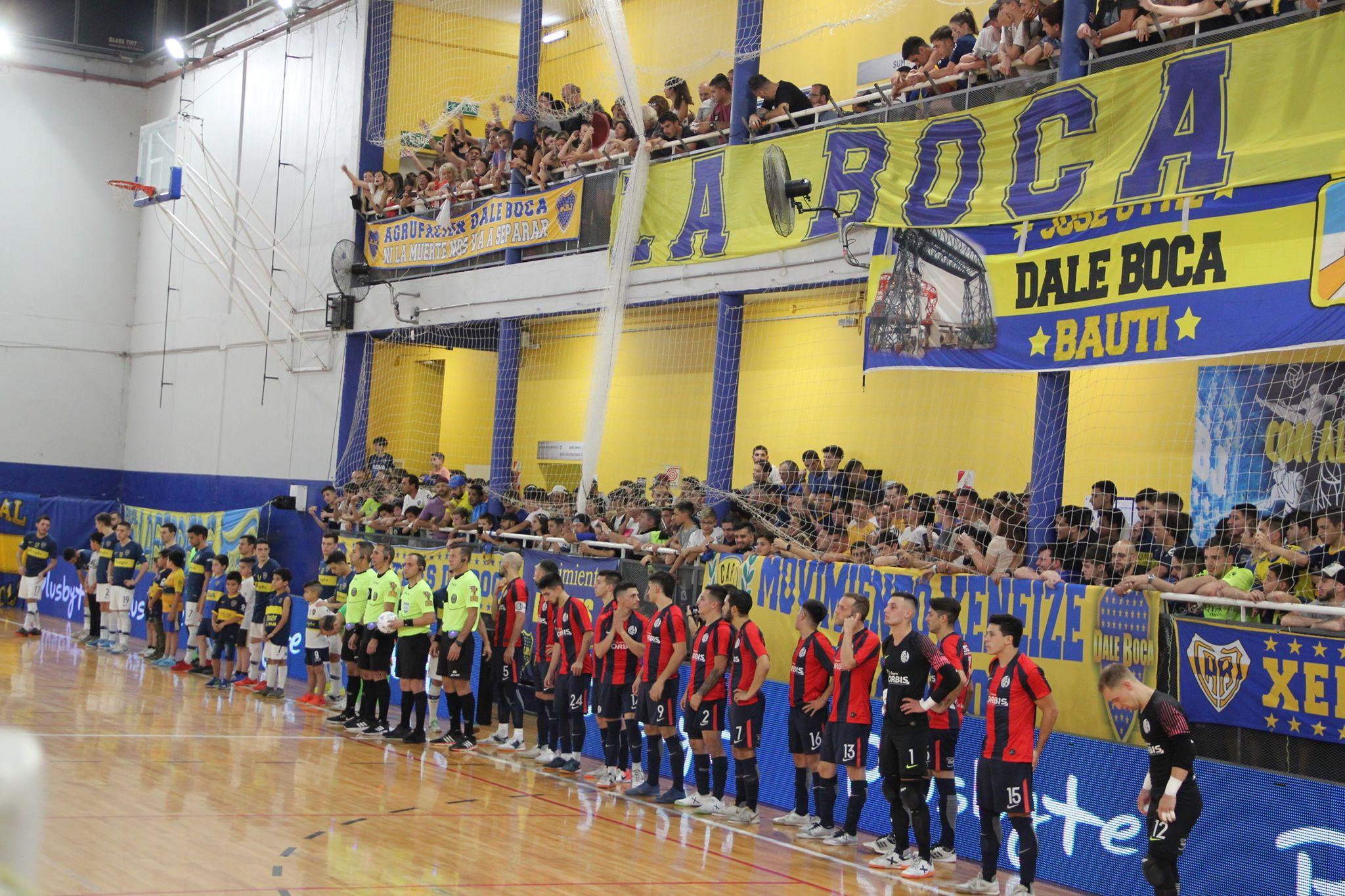 To Futsalhellas είδε από κοντά τη San Lorenzo να αλώνει την έδρα της Boca