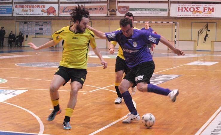 Futsal History X: Ο Καλογεράκης θυμάται τα μπαράζ ανόδου με την ΑΕΚ και τα δυο γκολ με τη Σαλαμίνα