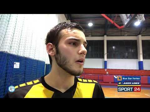 """Πάνου στο Futsalhellas: """"Είμαι πολυ χαρούμενος και αισιόδοξος για τη νέα χρονιά"""""""