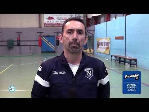 """Καρασάββας στο Futsalhellas: """"Κανένα ταβάνι στα όνειρά μας…"""""""