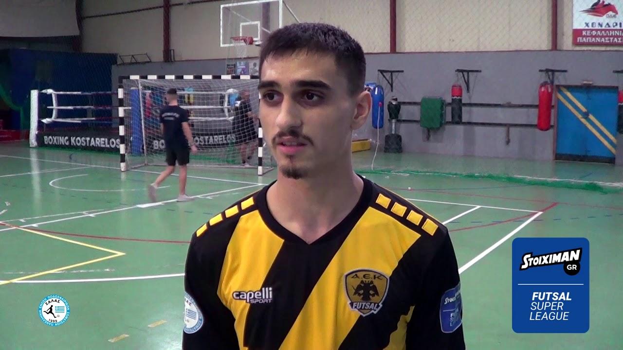"""Ταρνανίδης στο Futsalhellas: """"Μετατρέπουμε τις αντιξοότητες σε κίνητρο"""""""