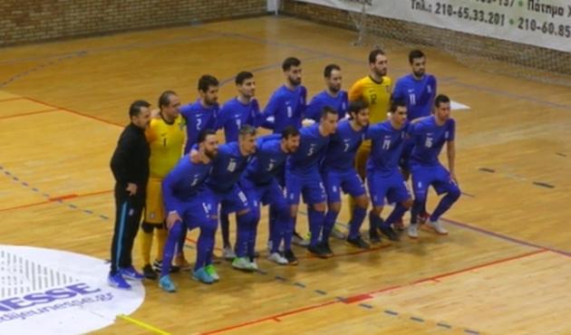 Ελλάδα – Σλοβακία 0-5: Άλλο επίπεδο οι φιλοξενούμενοι