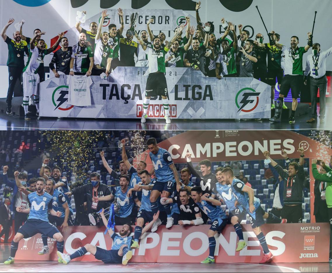 Καταιγιστικές στους τελικούς Inter Movistar και Sporting CP!