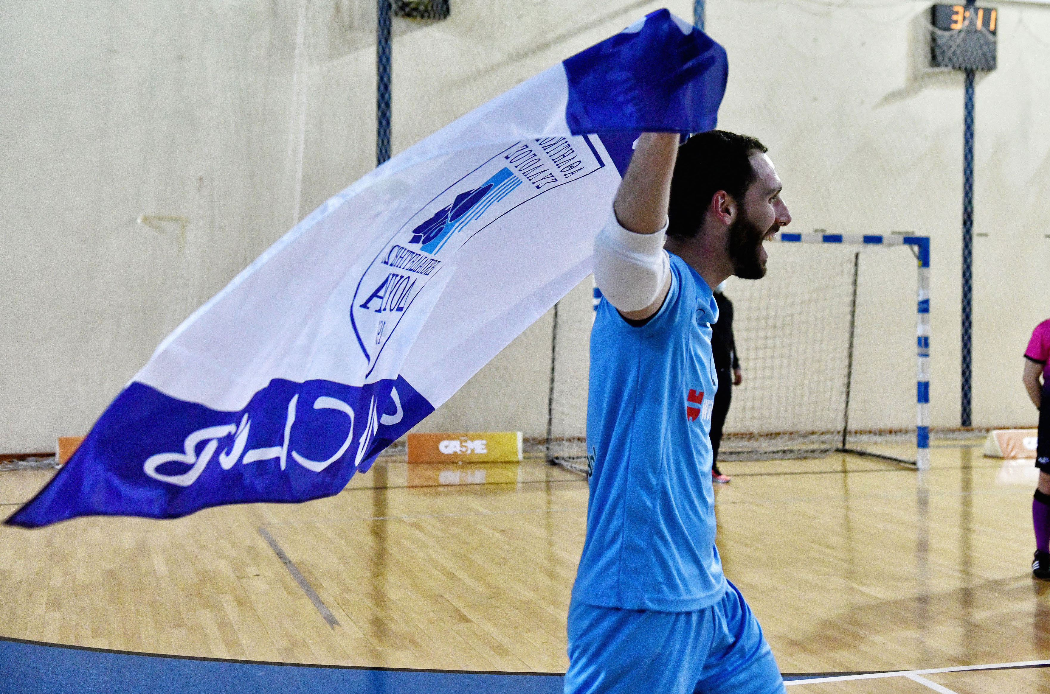 """Ζέρβας στο Futsalhellas: """"Δεν υπάρχει πιο όμορφο συναίσθημα, ειδικά όταν οι πιθανότητες δεν είναι με το μέρος σου"""""""