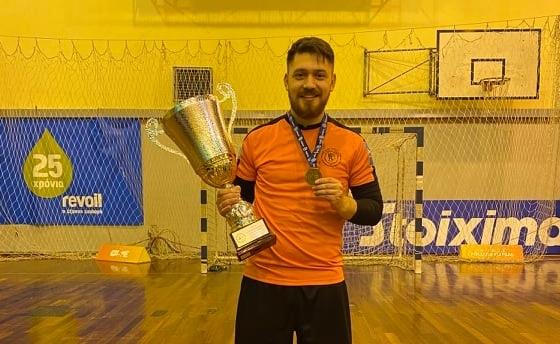 """Πολύδωρος στο Futsalhellas: """"Δεν μπορώ ακόμα να συνέλθω, Τσακανίκας οε οε οε…"""""""