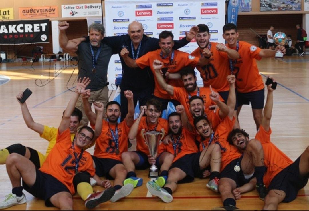 Ο Ορέστης Μεχίλλης μίλησε στο Futsalhellas για τον άθλο του Πηγάσου