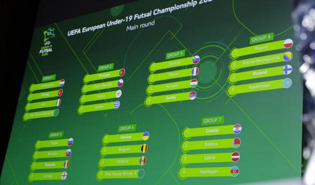 Με Κύπρο, Τσεχία και Πορτογαλία η Εθνική στο Main Round του U19 Futsal EURO
